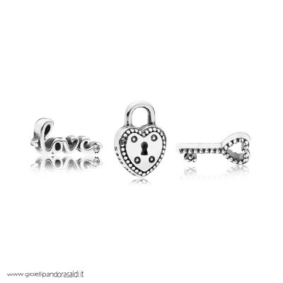 Nuova Collezione Key To My Heart Petite Charm Pack